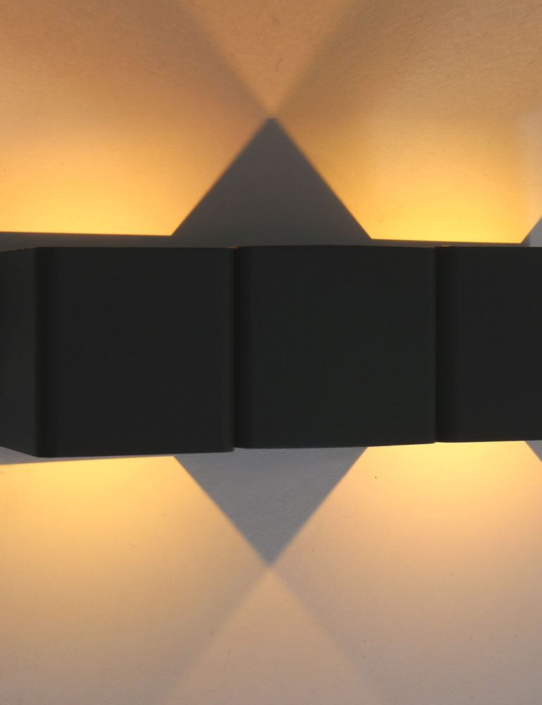 applique murale exterieur couleur sombre. Black Bedroom Furniture Sets. Home Design Ideas