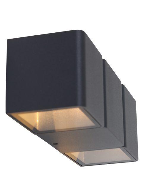 Applique exterieure design moderne noire