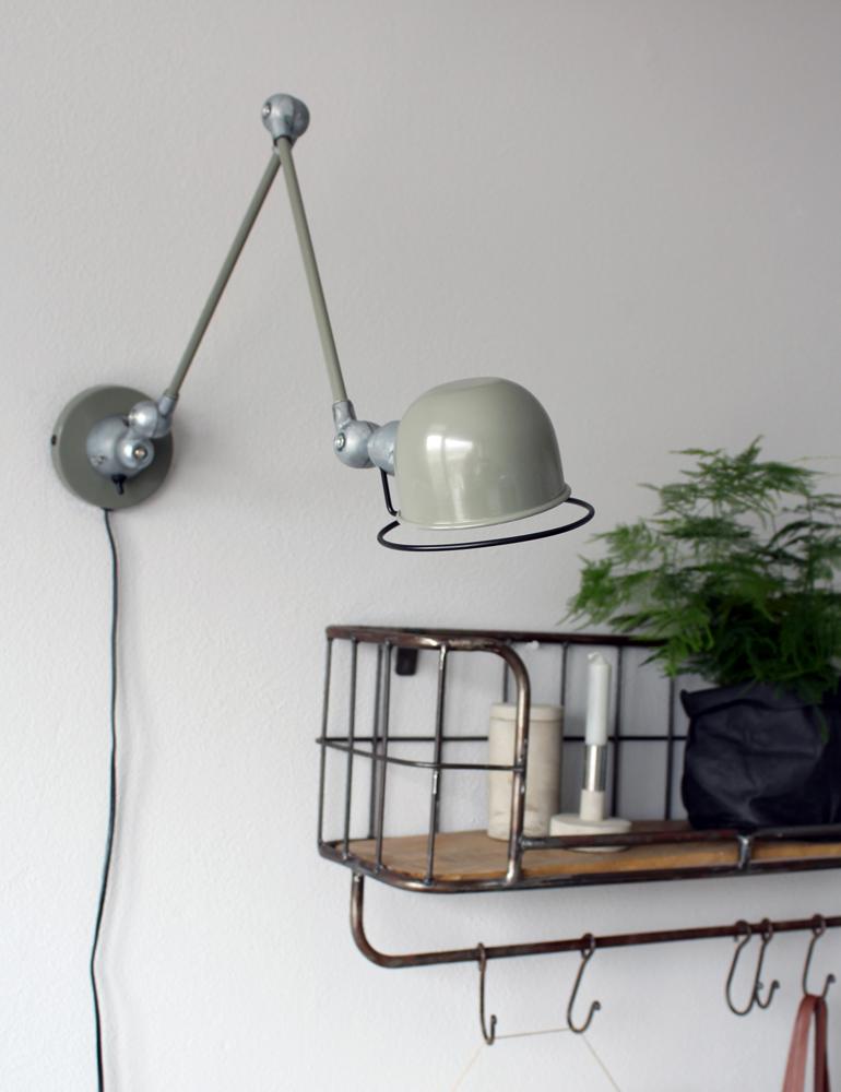 applique murale verte design moderne. Black Bedroom Furniture Sets. Home Design Ideas