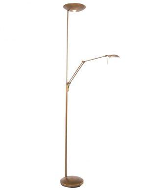 Lampadaire bronze pratique