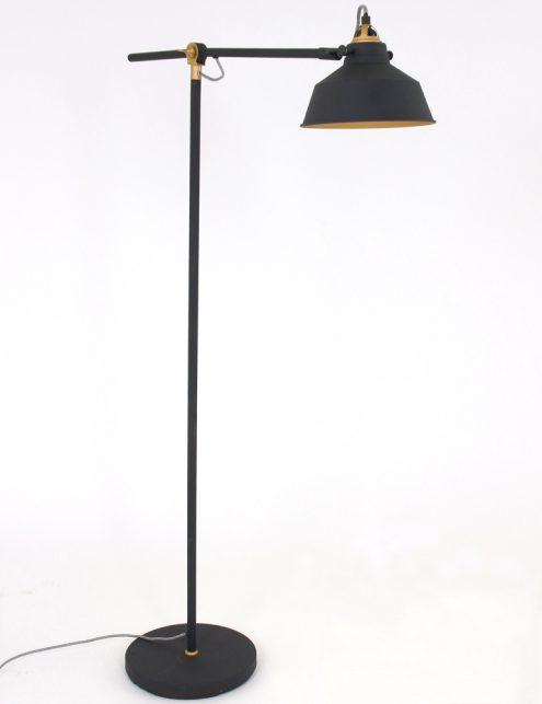 Lampadaire-industriel-noir-et-or-1