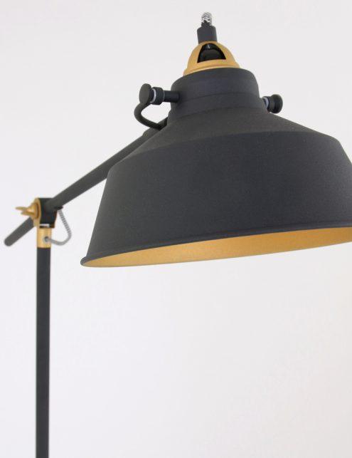 Lampadaire-industriel-noir-et-or-3
