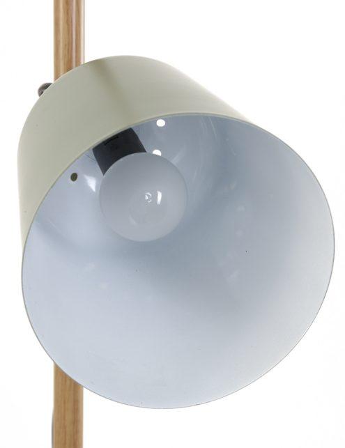 Lampadaire-vert-anis-minimaliste-pied-en-bois-4