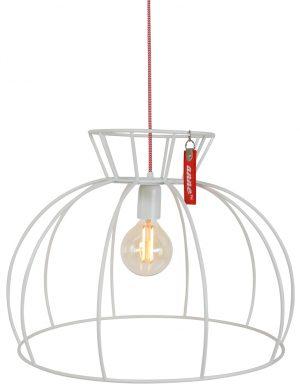Lampe Suspendue Cage blanche