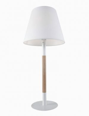 Lampe de table en bois