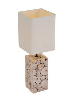 Lampe-de-table-en-bois-et-abat-jour-blanc-1