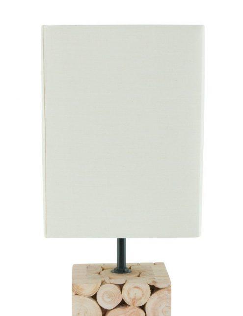 Lampe-de-table-en-bois-et-abat-jour-blanc-4