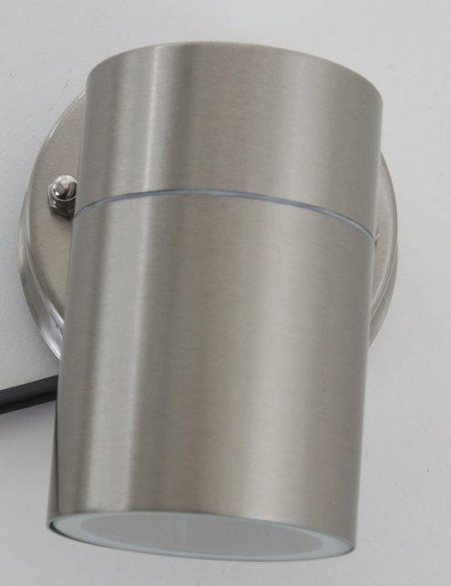 Lampe-dextérieur-moderne-spot-gris-acier-2