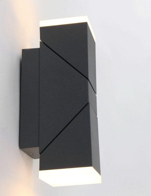 Lampe-dexterieur-moderne-noire-applique-2-spots-1