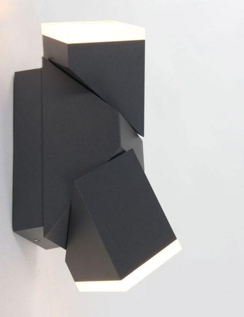 Lampe-dexterieur-moderne-noire-applique-2-spots-2