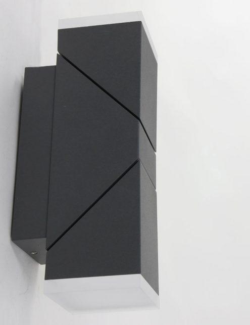 Lampe-dexterieur-moderne-noire-applique-2-spots-3