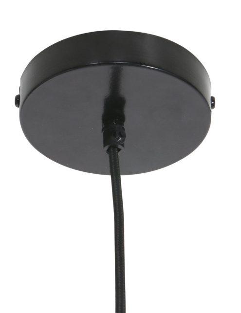 Lampe-noire-en-mailles-métalliques-Trendy-4