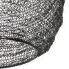 Lampe-noire-en-mailles-métalliques-Trendy-6