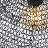 Lampe-noire-en-mailles-métalliques-Trendy-7