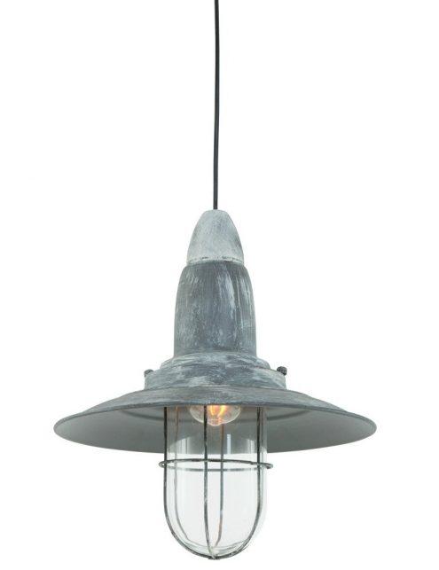 Lampe-suspendue-vintage-grise-robuste-1
