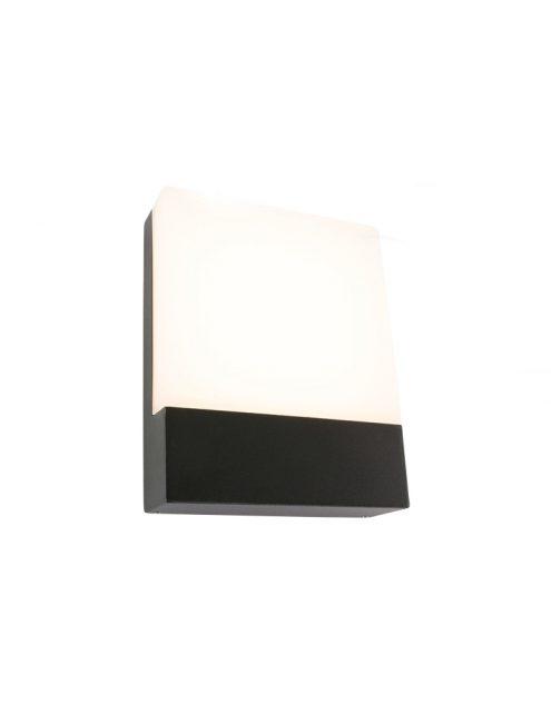 Lampe tournante noire d'exterieur