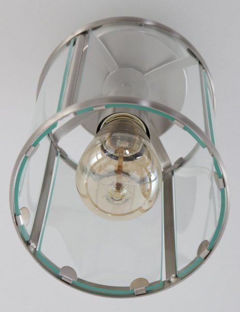 Luminaire-plafonnier-classique-verre-et-metal-3