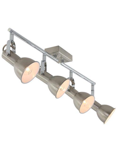 Plaffonier reglable 4 spots