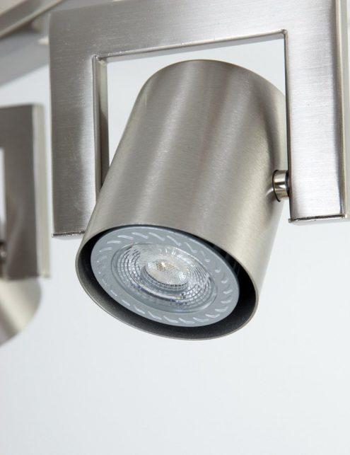Plafonnier-3-spots-LED-réglables-en-acier-1