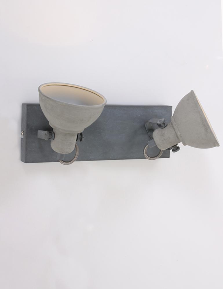 lampe rustique salon plafonnier 2 spots lampesenligne. Black Bedroom Furniture Sets. Home Design Ideas