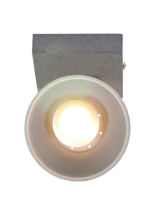 Plafonnier-spot-industriel-gris-anthracite-à-1-lumière-ajustable-2