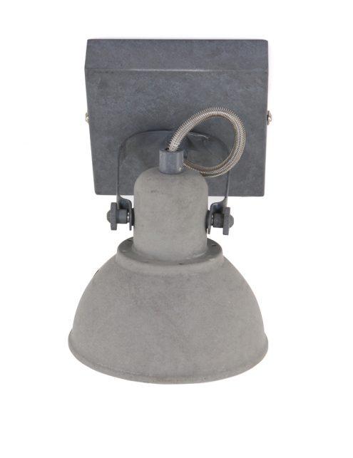 Plafonnier-spot-industriel-gris-anthracite-à-1-lumière-ajustable-4