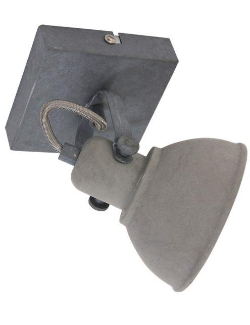 Plafonnier-spot-industriel-gris-anthracite-à-1-lumière-ajustable-8