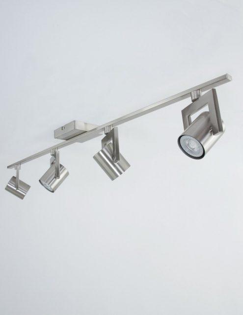 Spot-LED-encastrable-plafond-4-lumières-en-acier-2