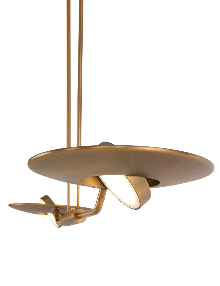 suspension moderne steinhauer zenith couleur bronze. Black Bedroom Furniture Sets. Home Design Ideas