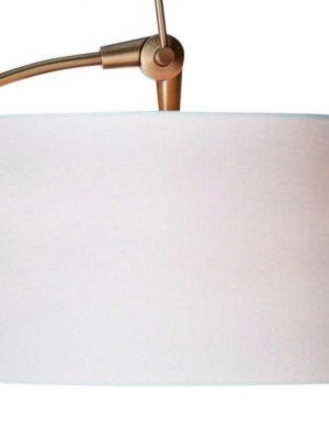 abat jour cylindrique blanc