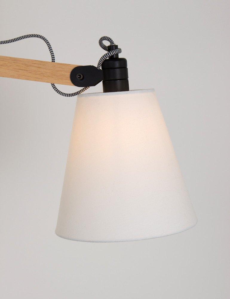 applique bois scandinave lumidem dion style scandinave. Black Bedroom Furniture Sets. Home Design Ideas