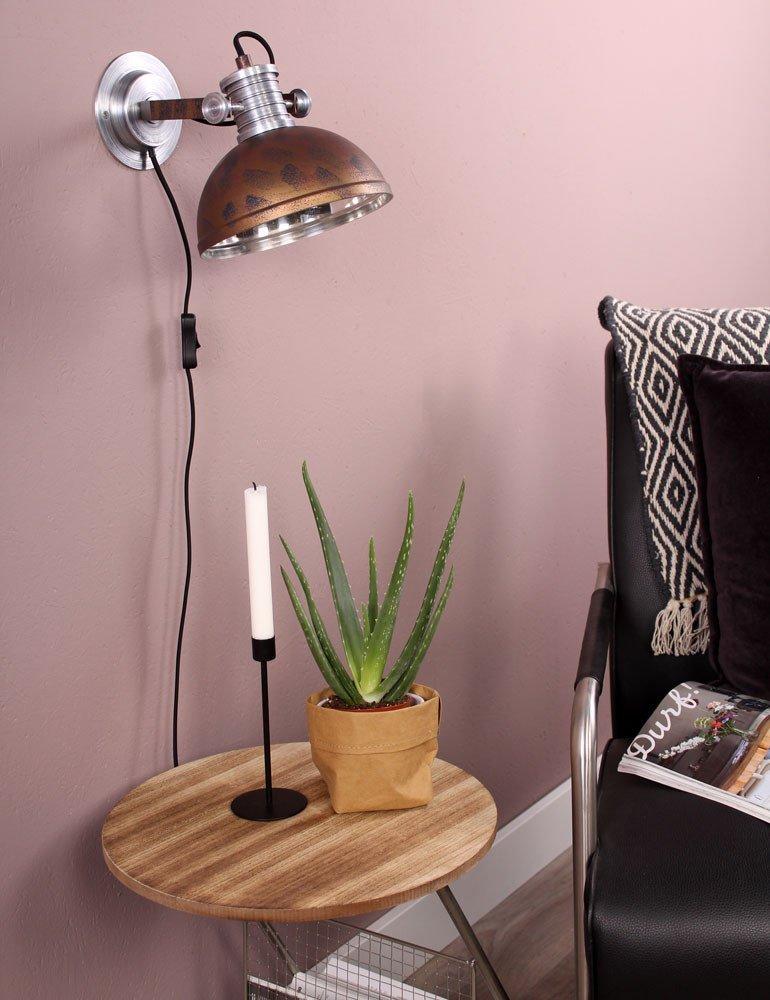 applique industrielle vintage steinhauer brooklyn. Black Bedroom Furniture Sets. Home Design Ideas