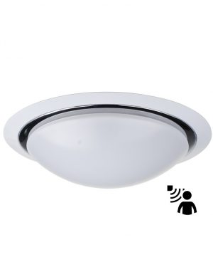 globe plafonnier en verre blanc