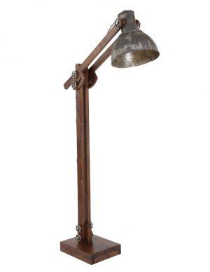 lampadaire ancien en bois