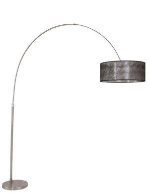 lampadaire arc noir