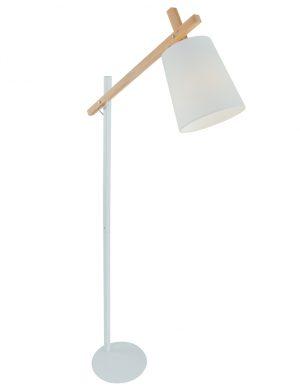 lampadaire bois scandinave