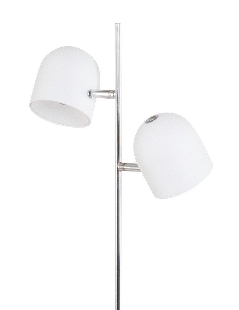 lampadaire salon blanc trio leuchten quidam unique design. Black Bedroom Furniture Sets. Home Design Ideas