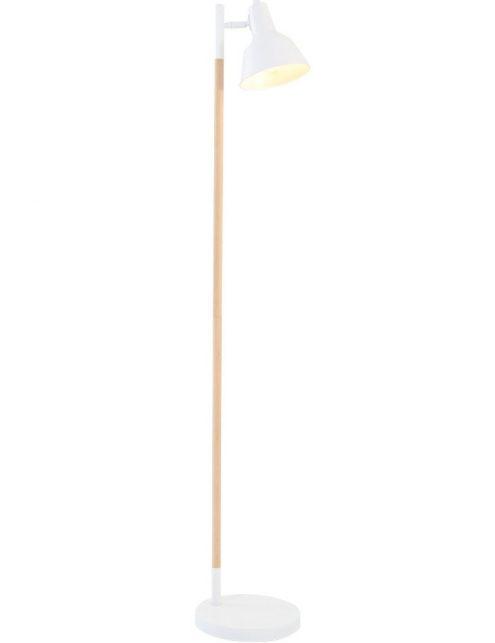 lampadaire scandinave blanc
