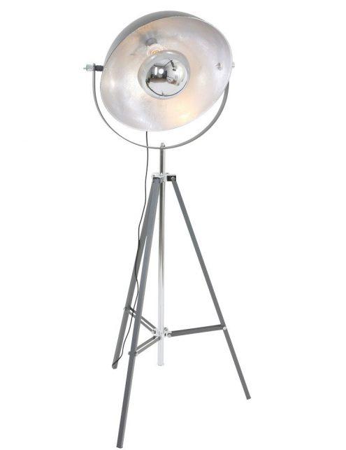 lampadaire trepied gris
