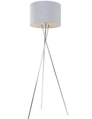lampadaire trepied metal