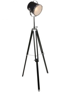 lampadaire tripode vintage