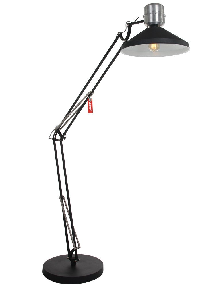 lampadaire type industriel anne zappa. Black Bedroom Furniture Sets. Home Design Ideas