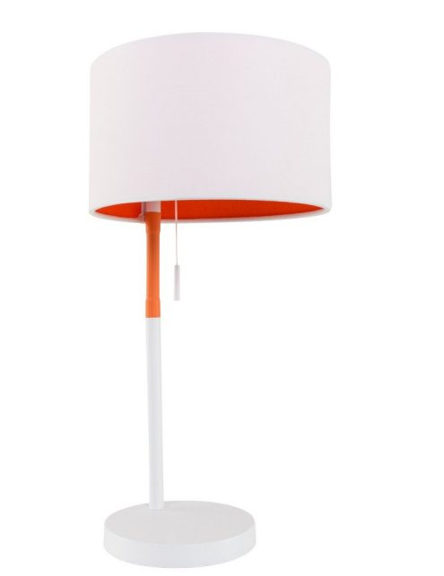 lampe à poser blanche