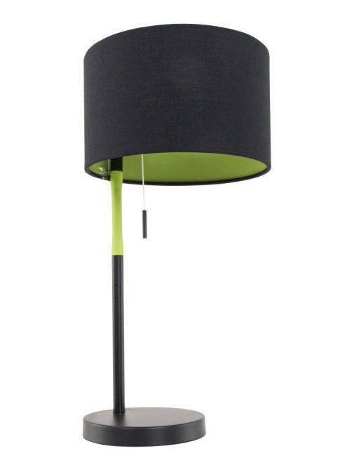 lampe à poser noire