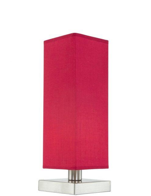 lampe à poser rouge
