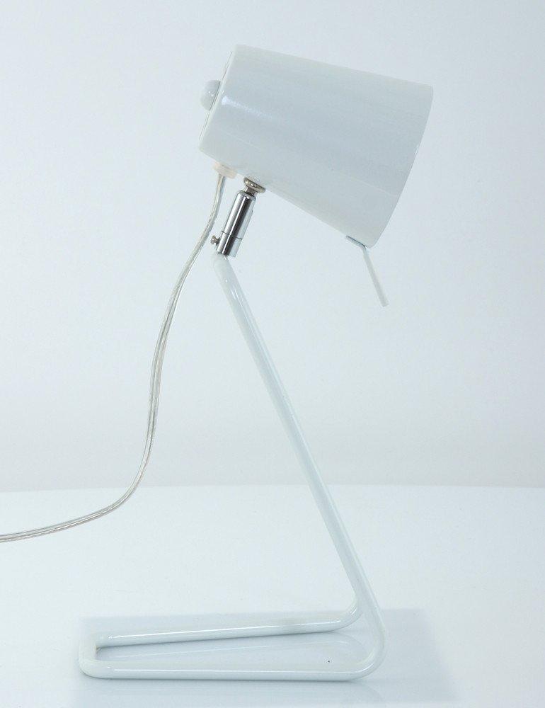 lampe a poser blanche design leitmotiv 39 z 39 39. Black Bedroom Furniture Sets. Home Design Ideas