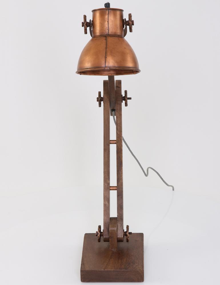 Lampe a poser cuivre light living ekerd - Lampe a poser cuivre ...