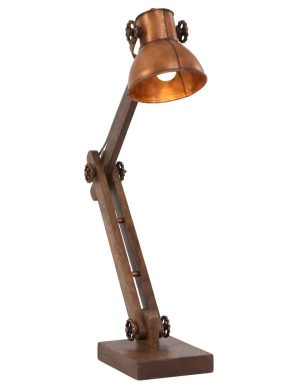 lampe a poser cuivre