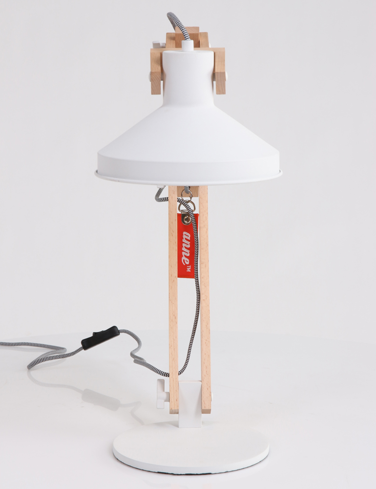 lampe poser design scandinave anne lighting woody. Black Bedroom Furniture Sets. Home Design Ideas
