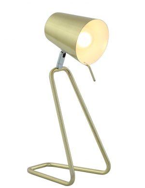 lampe a poser dorée